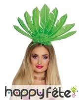 Serre tête coiffe brésilienne avec hautes plumes, image 4