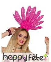 Serre tête coiffe brésilienne avec hautes plumes, image 5