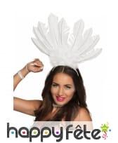Serre tête coiffe brésilienne avec hautes plumes, image 6
