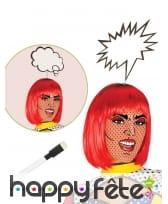Serre-tête écriteaux bulle de BD pour adulte, image 1