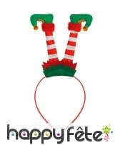 Serre-tête jambes d'elf
