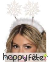 Serre tête neige de Noël