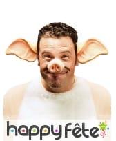 Serre tète oreilles de cochon