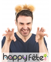 Serre tête oreilles de lion pour adulte, image 1