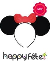 Serre tête oreilles de Minnie Mouse
