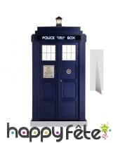 Silhouette tardis police box, doctor who