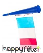 Trompette avec drapeau Français