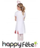Tenue blanche d'infirmière pour enfant, image 2