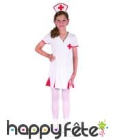 Tenue blanche d'infirmière pour enfant, image 3