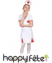 Tenue blanche d'infirmière pour enfant