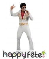 Tenue blanche de Elvis Presley, luxe