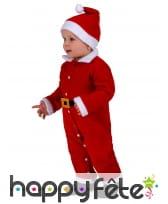 Tenue de bébé Père Noël, image 1