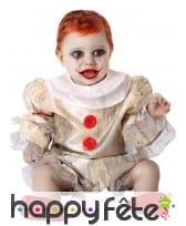 Tenue de bébé sinistre pour bébé