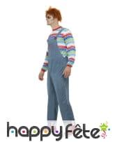 Tenue de Chucky pour homme adulte, image 1