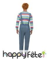 Tenue de Chucky pour homme adulte, image 2