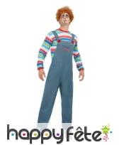 Tenue de Chucky pour homme adulte, image 3