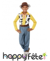 Tenue de cow-boy imprimé vache pour enfant