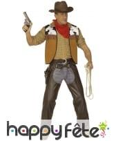 Tenue de cowboy en chaps pour adulte
