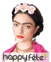 Tresses de cheveux avec fleurs pour femme, image 1