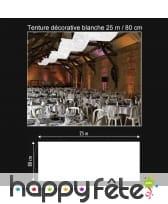 Tenture décorative de 25 m / 80 cm, image 12