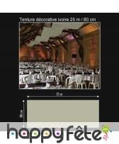 Tenture décorative de 25 m / 80 cm, image 2