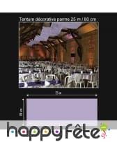 Tenture décorative de 25 m / 80 cm, image 4