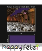 Tenture décorative de 25 m / 80 cm, image 1