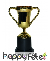 Trophée doré double poignée, 25cm