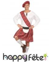 Tenue d'écossais pour homme adulte