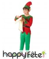 Tenue d'elfe de Noël pour garçon, image 1
