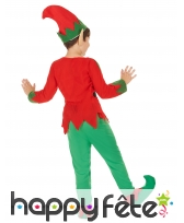 Tenue d'elfe de Noël pour garçon, image 2