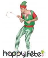 Tenue d'elfe de Noël pour homme, image 1