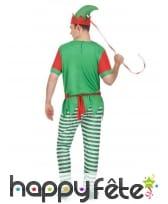 Tenue d'elfe de Noël pour homme, image 2