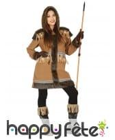 Tenue d'esquimau pour femme