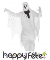Tenue de fantôme blanc traditionnel pour adulte, image 1