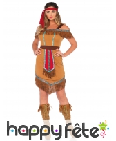 Tenue de femme indienne longueur genoux