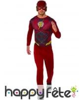 Tenue de Flash pour adulte, modèle classique