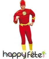 Tenue de Flash pour adulte