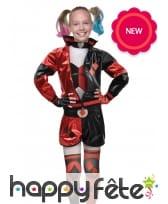 Tenue de Harley Quinn pour enfant