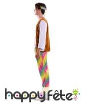 Tenue de Hippie multicolore pour homme, image 1