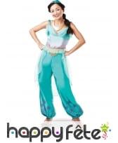 Tenue de Jasmine dans Aladin pour adulte