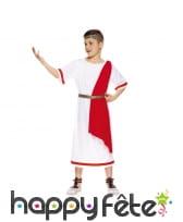 Tenue de Jule César pour enfant