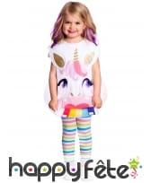 Tablier de licorne pour enfant