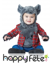 Tenue de loup garou pour bébé