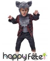 Tenue de loup garou pour garçon