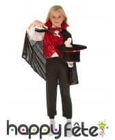 Tenue de magicien pour enfant avec accessoires, image 1