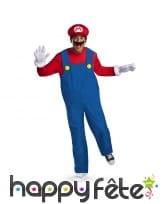 Tenue de Mario Bross deluxe