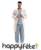 Tenue de médecin d'hôpital pour adulte
