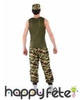 Tenue de militaire camouflage pour ado, image 2