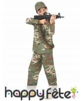 Tenue de militaire pour petit garçon, image 1